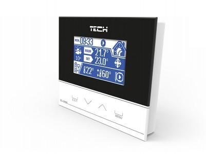 tech st-296 комнатные терморегуляторы для установки cо связью rs
