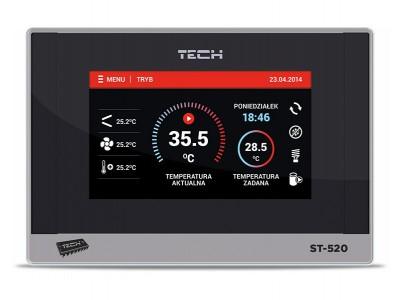 tech st-520 контроллеры для тепловых насосов